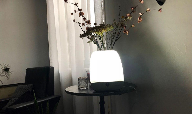 La luminothérapie s'intègre parfaitement dans l'intérieur d'une maison